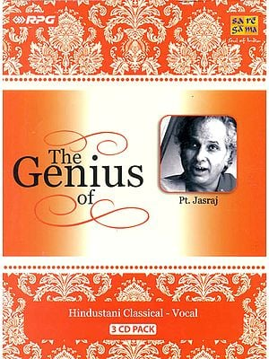 The Genius of Pt. Jasraj (Set of 3 Audio CDs)