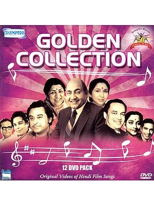Golden Collection: Original Videos of Hindu Film Songs (Set of 12 DVDs)
