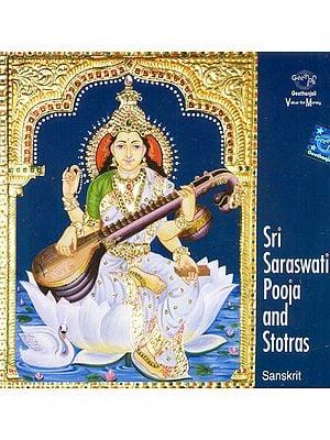 Sri Saraswati Pooja and Stotras (Sanskrit) (Audio CD)