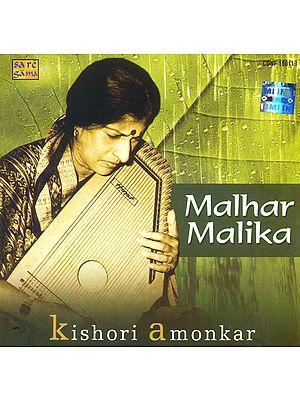 Malhar Malika (Kishori Amonkar) (Audio CD)