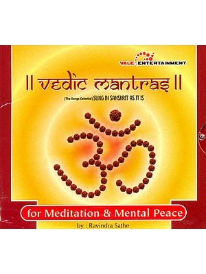 Vedic Mantras: For Meditation and Mental Peace (Sung in Sanskrit As It Is) (Audio CD)
