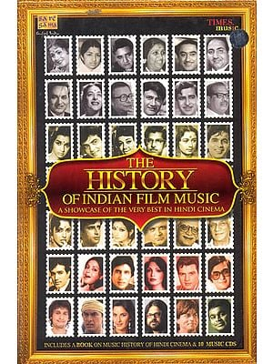 The History of Indian Film Music: A Showcase of The Very Best in Hindi Cinema (Set of 10 CDs)