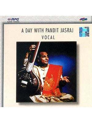 A Day With Pandit Jasraj (Vocal) (Audio CD)