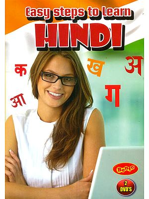 Easy Steps to Learn Hindi (Set of 2 DVDs)