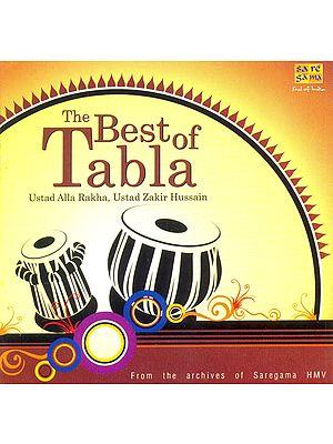 The Best of Tabla (Ustad Alla Rakha, Ustad Zakir Hussain) (Audio CD)