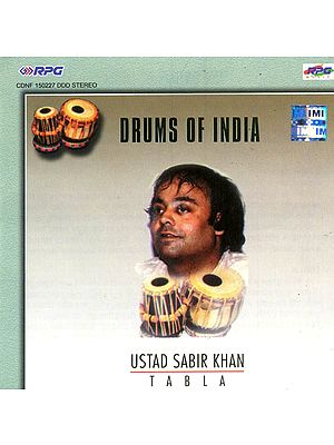 Drums of India (Ustad Sabir Khan - Tabla) (Audio CD)
