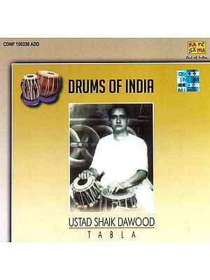 Drums of India (Ustad Shaik Dawood - Tabla) (Audio CD)