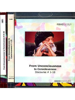 From Unconciousness to Consciousness (Set of 3 MP3 CDs)