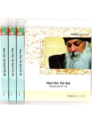 Hari Om Tat Sat  (Set of 4 MP3 CDs)