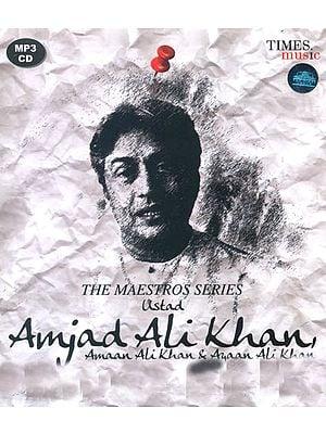 The Maestros Series: Ustad Amjad Ali Khan (MP3 CD)
