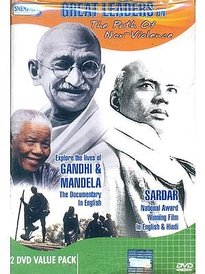 Great Leaders onThe Path Of Non-Violence: D (Set Of Two DVD NTSC)