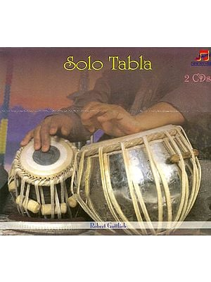 Solo Tabla (Set of 2 Audio CDs)