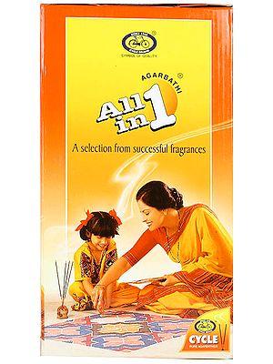 All in 1 Agarbathi (Incense Sticks)