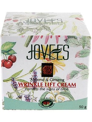 Jovees Almond & Ginseng - Wrinkle Lift Cream (Corrects the Signs of Time)