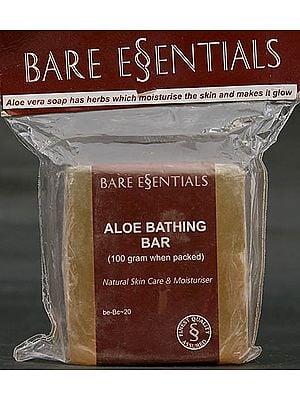 Aloe Bathing Bar (Musk) - Natural Skin Care & Moisturiser (Price Per Pair)