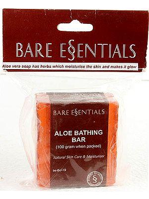 Aloe Bathing Bar (Strawberry) - Natural Skin Care & Moisturiser (Price Per Pair)
