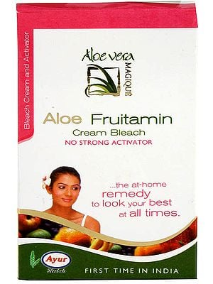 Aloe Fruitamin Cream Bleach