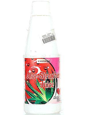 Aloe-Strawberry Juice