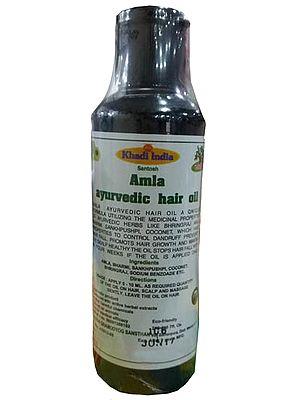 Ayurvedic Medicine Khadi Amla Hair Oil Ayurvedic