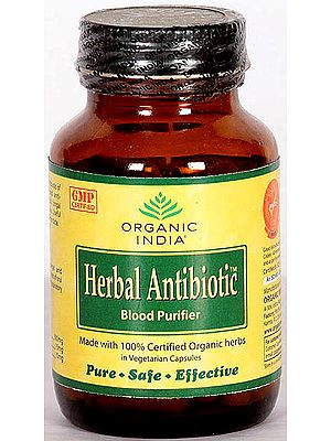 Organic India Herbal Antibiotic Blood Purifier