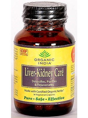 Organic India Liver-Kidney Care (Detoxifies, Purifies & Rejuvenates)