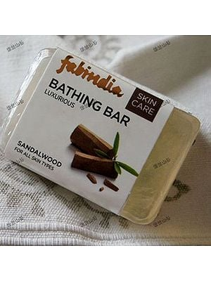 Pure and Luxurious Sandalwood Soap (Price Per Two Bars)