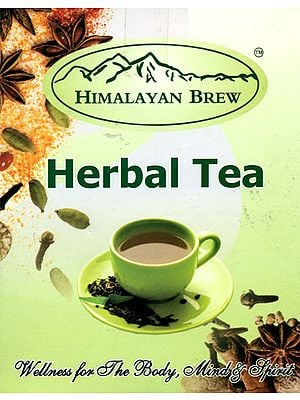 Himalaya Herbal Chai (India's Excellent Desi Tea) - Ayurvedic Remedy for Cough, Cold, Fever and Eye Weakness
