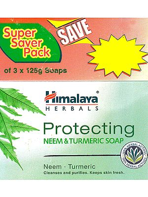 Protecting Neem & Turmeric Soap (For All Skin Types Cleanses and Purifies. Keeps Skin Fresh)