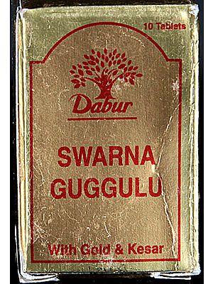 Swarna Guggulu Ras with Gold & Guggulu (Ten Tablets)