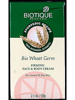 Bio Wheat Germ Firming Face & Body Cream For Normal To Dry Skin (100% Botanical Extracts)