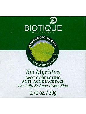Myristica Pack Pimples and Acne Pack Bio Myristica