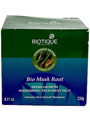 Bio Musk Root Fresh Growth Nourishing Treatment Pack (Intensive Hair Growth Treatment)