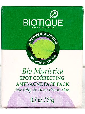 Bio Myristica Spot Correcting Anti-Acne Face Pack (For Oily & Acne Prone Skin)