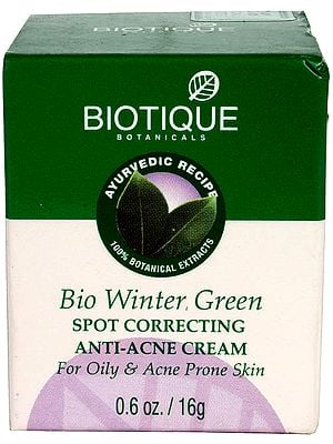 Bio Winter Green Spot Correcting Anti-Acne Cream (For Oily & Acne Prone Skin)
