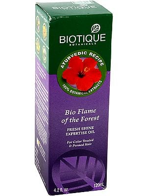 Bio Flame of the Forest Fresh Shine Expertise Oil (For Color Treated & Permed Hair)
