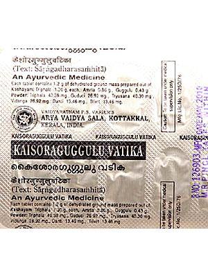 Kaisoraguggulu Vatika (Tablets)