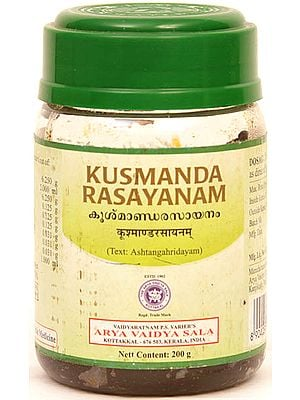 Kusmanda Rasayanam (Text: Ashtangahridayam)