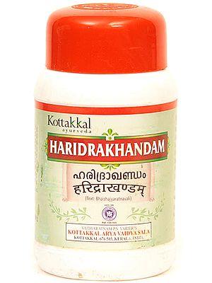 Haridrakhandam (Text: Bhaishajyaratnavali)