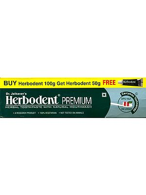Herbodent Classic Herbal Toothpaste with Natural Mouthwash