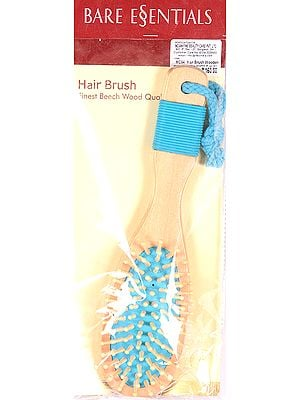 Bare Essentials Hair Brush (Finest Beech Wood Quality)