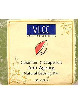 Anti  Ageing - Natural Bathing Bar (Geranium & Grapefruit)