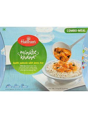 Haldiram's 5 Minute Food - Kadhi Pakoda with Jeera Rice