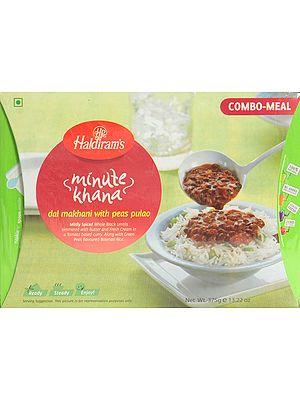 Haldiram's 5 Minute Food - Dal Makhani with Peas Pulao
