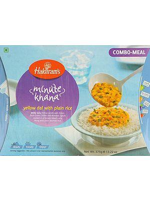 Haldiram's 5 Minute Food - Yellow Dal with Plain Rice