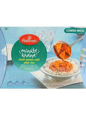 Haldiram's 5 Minute Food - Shahi Paneer with Plain Rice