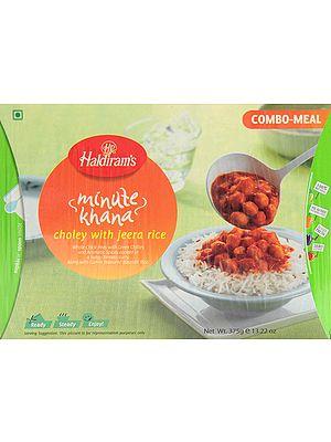 Haldiram's 5 Minute Food - Choley with Jeera Rice