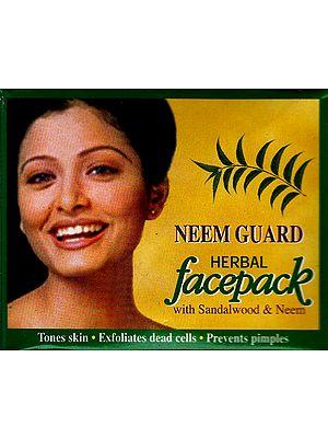 Neem Guard Herbal Facepack (with Sandalwood & Neem)
