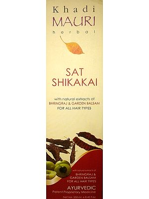 Sat Shikakai (Ayurvedic Shampoo) For Shining Black Hair