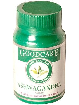 Ashwagandha Capsules Revitalizes and calms the mind