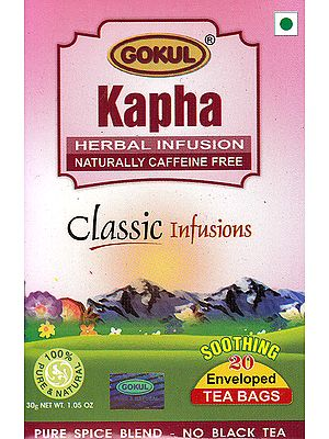 Kapha Herbal Infussion Naturally Caffeine Free: Classic Infusions